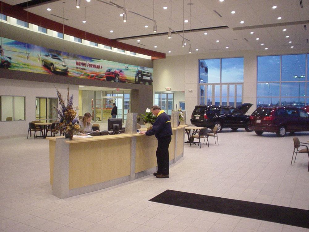 Mann Parsons Gray Architects Automotive Portfolio